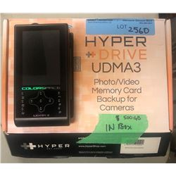 500GB Hyper   Drive UDMA3 Photo/Video Memory Card Backup For Cameras