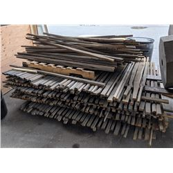Fence posts and fence panels