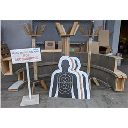 Target practice unit