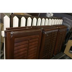 Fencing and blinds