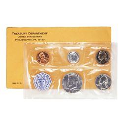 1964 (5) Coin Proof Set in Original Envelope