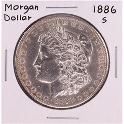 1886-S $1 Morgan Silver Dollar Coin