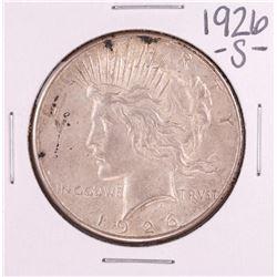1926-S $1 Peace Dollar Silver Coin
