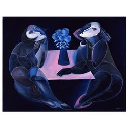 "Yuroz ""Table Of Negotiation"" Limited Edition Serigraph"