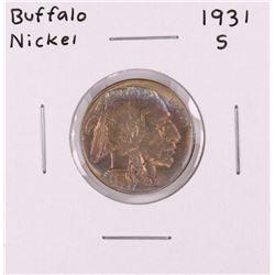 1931-S Buffalo Nickel Coin