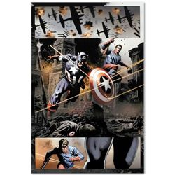 "Marvel Comics ""Captain America #37"" Limited Edition Giclee"