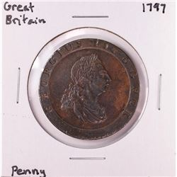 1797 Great Britain Penny Copper Coin
