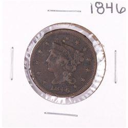 1846 Braided Hair Large Cent Coin