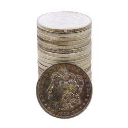 Roll of (20) Brilliant Uncirculated 1888 $1 Morgan Silver Dollar Coins Nice Toning