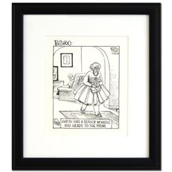 "Dan Piraro Bizarro ""Prom (12/18/09-D)"" Original Drawing"