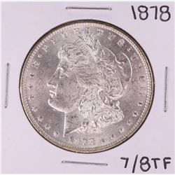 1878 7/8TF $1 Morgan Silver Dollar Coin