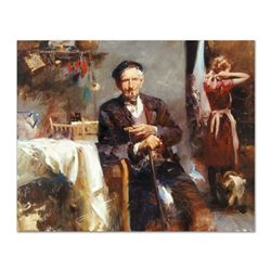 "Pino (1939-2010) ""Fleeting Moments"" Limited Edition Giclee on Canvas"