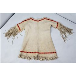 Montana Indian Beaded Leather Child's Dress