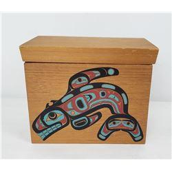Upper Skagit Indian Tribe Washington Bent Wood Box
