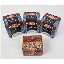 1908 Rounds of .22 LR Ammo Federal Winchester