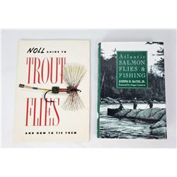 Trout and Salmon Flies Guide Books Noll Bates