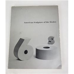 American Sculpture of the Sixties 1967 Book