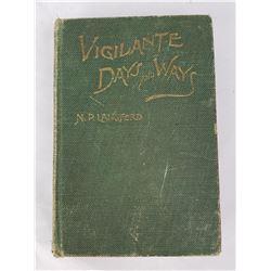 Vigilante Days and Ways Book Langford 1912 Montana