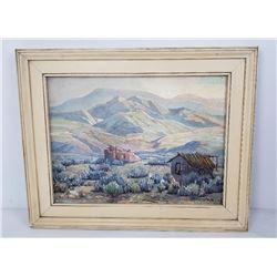 John Stansfield Fairview Mt Pleasant Utah Painting