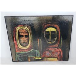Charles Malcolm Campbell The Outsiders Painting