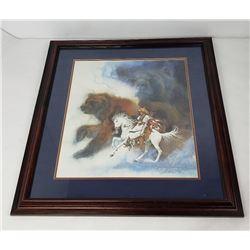 Two Bears of the Blackfeet Bev Doolittle Print