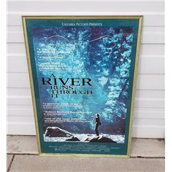 Original A River Runs Through It Movie Poster