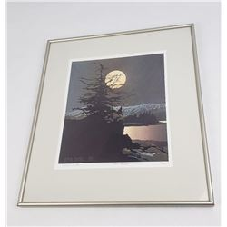 Byron Birdsall Alaska Silent Passage Lithograph