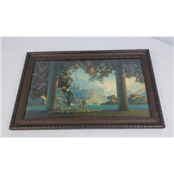 Maxfield Parrish Daybreak Print Very Strong Colors