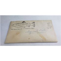 Jack Boehme Missoula Montana Fly Fishing Envelope