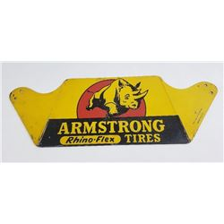 Armstrong Rhino Flex Tires Rack Sign