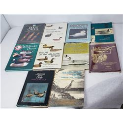 Duck Decoys Shore Birds and Duck Calls Books