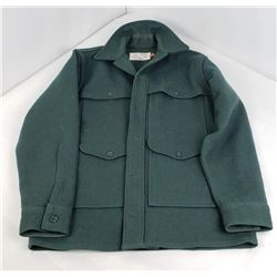 Forest Green Wool Filson Mackinaw Jacket