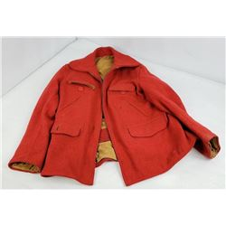North Country 1950's Wool Hunting Jacket