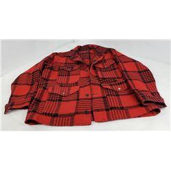 Pendleton Red Wool Mackinaw Hunting Jacket