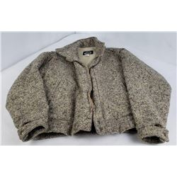 Men's Woolrich Winter Jacket 100% Wool Size Medium