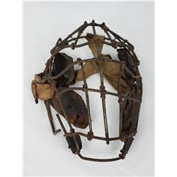 Antique Spiderman Baseball Catchers Mask