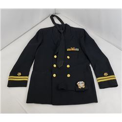 Vietnam US Navy Surgeon Dress Uniform Named