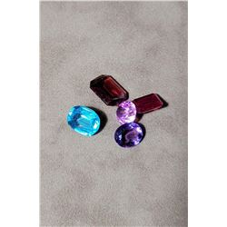 40 Carats of Assorted Faceted Gemstones