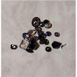 85 Carats of Smokey Quartz Gemstones