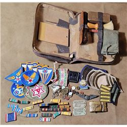 WW2 Doolittle Raider Time Capsule Named Medals