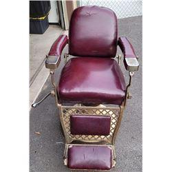 Antique Emil J. Paidar Barber Chair Chicago