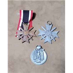 WW2 German Nazi War Merit Eastern Front Medals