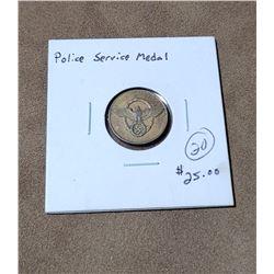 WW2 German Nazi Police Service Medal