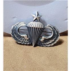Korean War Sterling Silver Senior Jump Wings