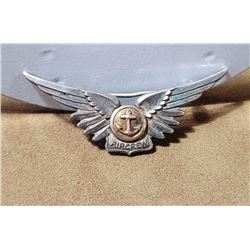 WW2 Sterling Silver US Navy Amico Air Crew Wings