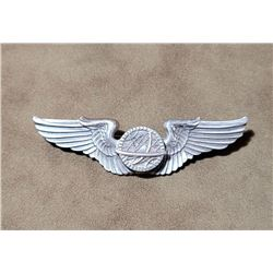 """WW2 Sterling Silver Navigator Pilot Wings 3"""""""
