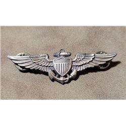 Korean War NS Meyer Sterling US Navy Pilot Wings