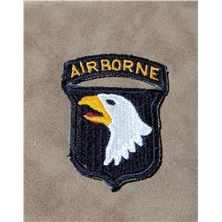 Original WW2 Screaming Eagle 101st Airborne Patch