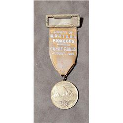 Great Falls Montana Pioneers 1929 Medal