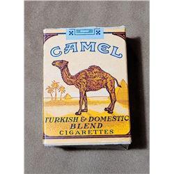 WW2 Empty Camel Cigarette GI Issue Box